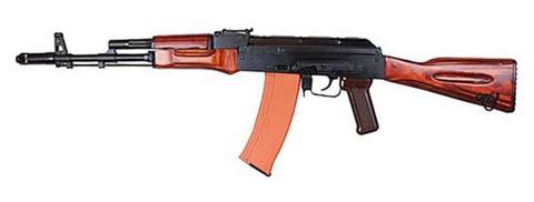 【取寄・ガス漏れ永久保証付】GHK AK74 GBB ガスガン ガスブローバック