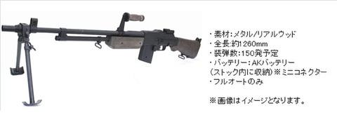 S&T BAR ブローニング M1918A2 リアルウッド電動ガン 2次ロット 【予約商品/海外製品/内部メンテナンス済】
