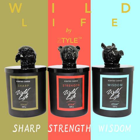Wild Life by ZTYLE アロマキャンドル