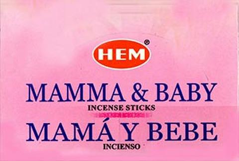 HEM社お香 ママ&ベビー 6箱入り1ケース