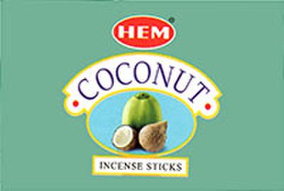 HEM社お香 ココナッツ 6箱入り1ケース