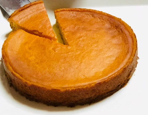 復活!かぼちゃケーキ