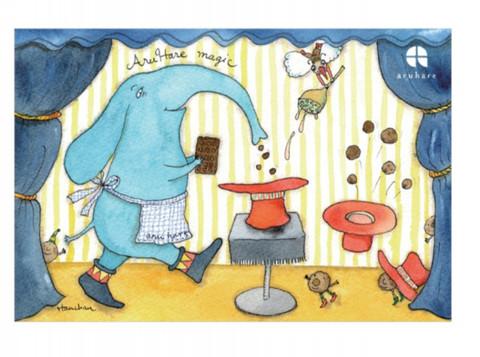 ポストカード(たのしいお菓子づくり)