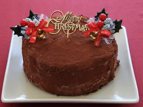 (早期割引き予約受付中)米粉のショコラクリスマスケーキ(予約商品)