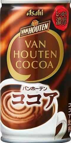 (50円)バンホーテン ココア190缶(30本入)