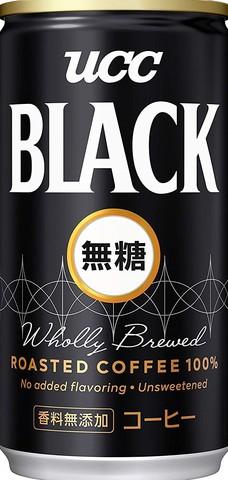 (50円)UCC BLACK無糖190缶(30本入)