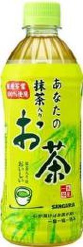(50円)抹茶入りお茶500PET(24本入)
