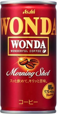 (50円)アサヒ WONDA モーニングショット190缶(30本入)