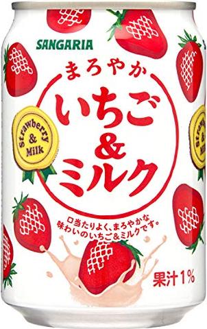 (56円)いちご&ミルク280缶(24本入)