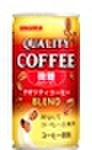 クオリティコーヒー微糖185g缶(30本入)