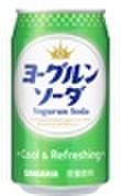 ヨーグルンソーダ350ml缶(24本入)