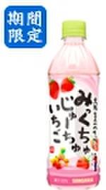 みっくちゅじゅーちゅいちご500mlPET(24本入)