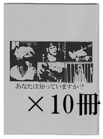 冊子10冊セット(予約-発送までお時間頂きます)
