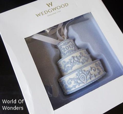 2013年 ウェッジウッド クリスマスオーナメント ケーキ