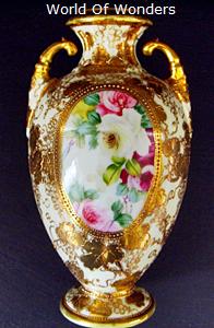 オールドノリタケ 花瓶 (壷) サイズ各種