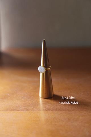 Flat Ring(A) ホワイトオパール用キット