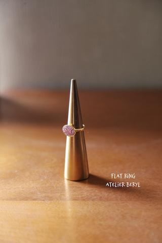 Flat Ring(B) ライトローズ用キット