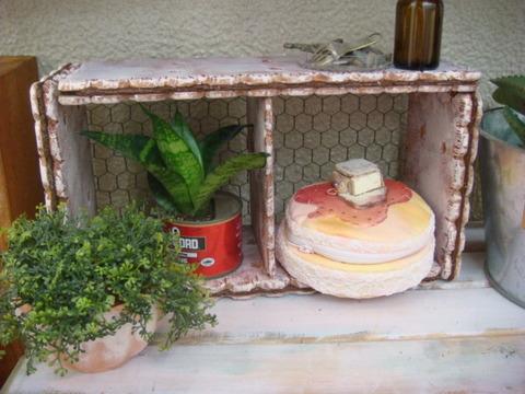 サンドクッキーのディスプレイラック/Cream Sandwich Cookie Display Rack(2×1)