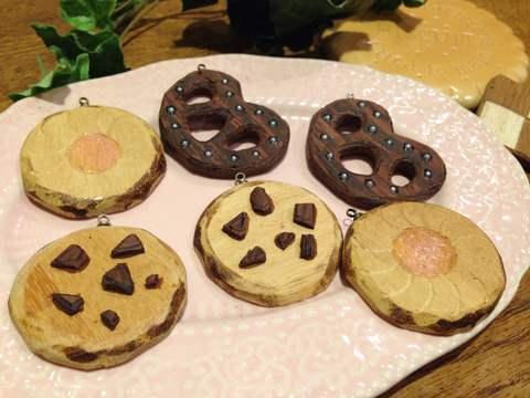 無垢材クッキーパーツ/Wooden Cookies
