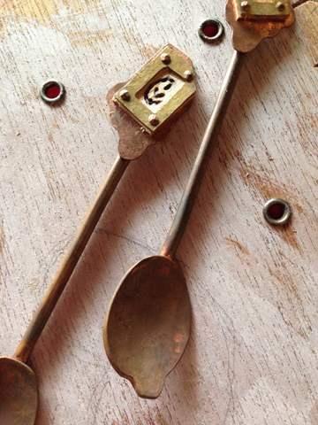 溶けチョコのスプーン/Melty  Chocolate Spoon