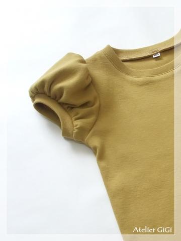 【無料型紙パーツ】ビッグパフ袖
