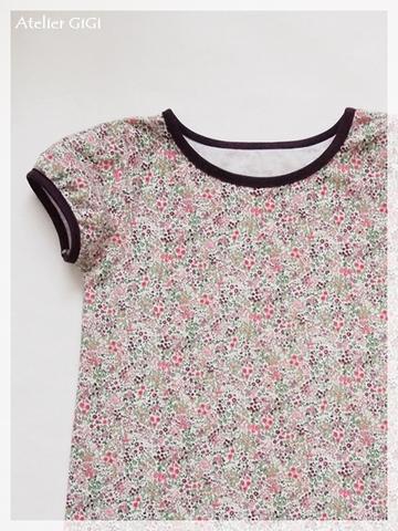 Manon パフ袖Tシャツ