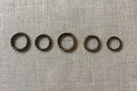リング (アンティーク/真鍮)