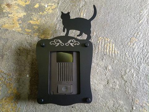 インターホンカバーAタイプ(猫)