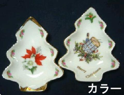 94 ツリー皿 (カラー写真入)