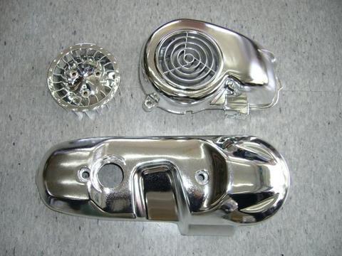 メッキ エンジンカバー