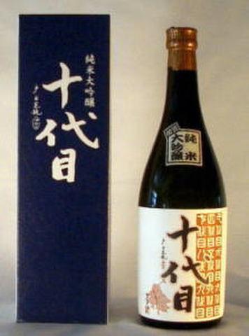 【純米大吟醸】十代目(720ml)