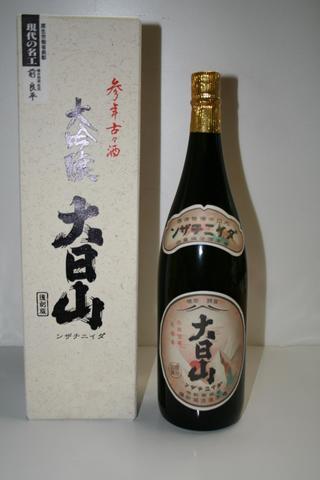 【古酒】参年古々酒 大日山(720ml)