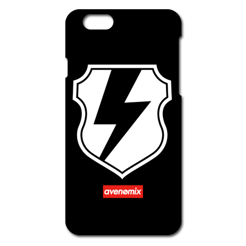 avenomix / THUNDER EMBLEM iPhone CASE BLACK