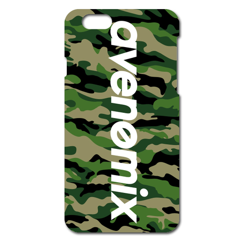 avenomix / avenomix LOGO iPhone CASE WOODLAND CAMO