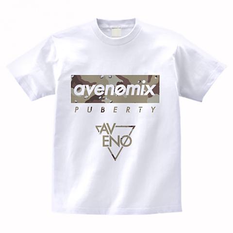 avenomix / PUBERTY T-SHIRT WHITE DESERT CAMO