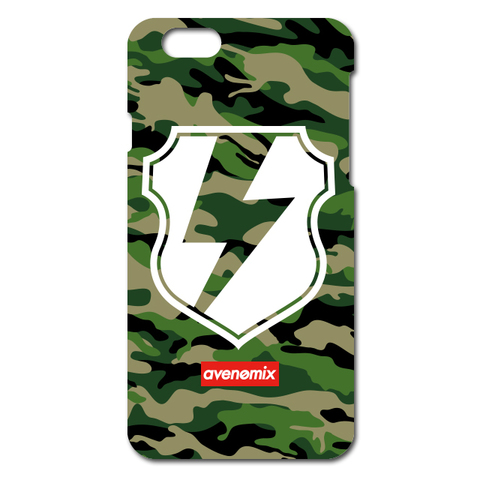 avenomix / THUNDER EMBLEM iPhone CASE WOODLAND CAMO