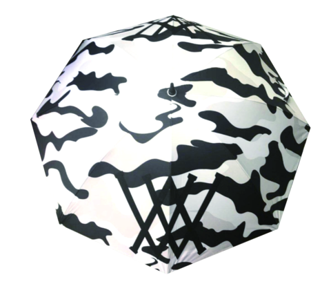 6211 Golf Umbrella 「black camo」
