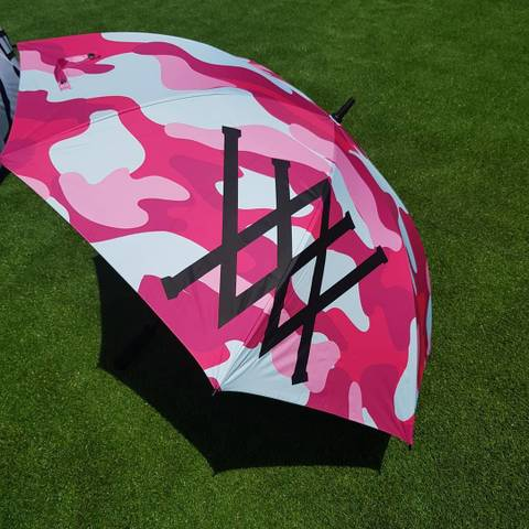 6212 Golf Umbrella 「pink camo」