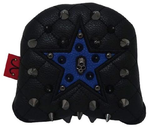 79BK31 Selmoヘッドカバー Stella (黒×黒)/C.ブルー【PM】