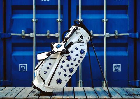 Selimo 限定スタンドバッグ  8104 WH×コバルトブルー