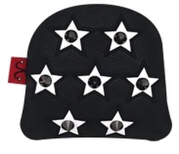 79BK26 Selmoヘッドカバー Stella 黒×黒(白)【PM】