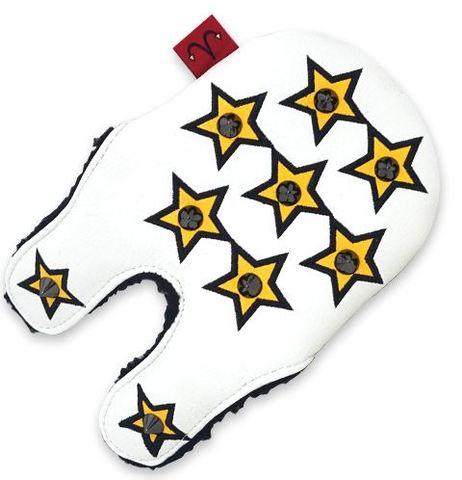 79WH23 Selmoヘッドカバー Stella 黒×黒(黄)【PM】
