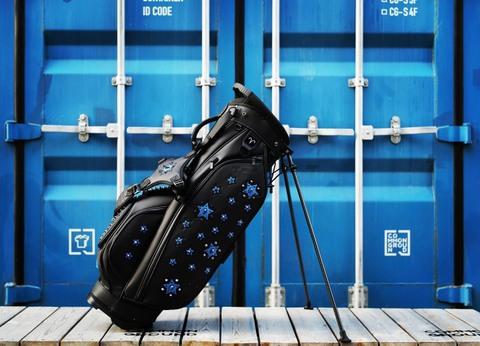 Selimo 限定スタンドバッグ  8004 BK×コバルトブルー