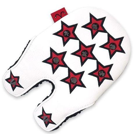 79WH25 Selmoヘッドカバー Stella 黒×黒(赤)【PM】