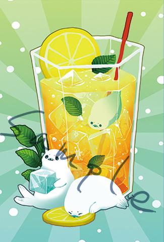 「レモンティー」ポストカード