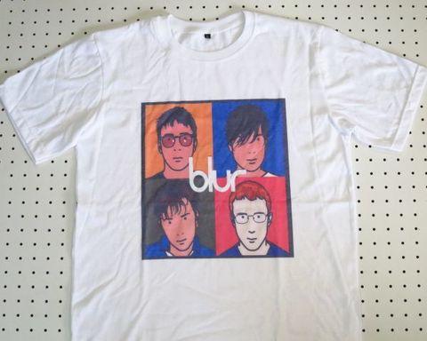 ブラー blur The Best Of Tシャツ Lサイズ 白 【OPSD】半袖 バンドTシャツ ロックTシャツ イギリス UKロック オルタナティブ 夏フェス 音楽系 ダンス衣装 通販 販売