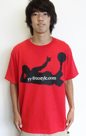 Platini T Shirt Red×Black