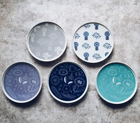 波佐見焼Shallow Plate シャロ―プレート・garden Sサイズ