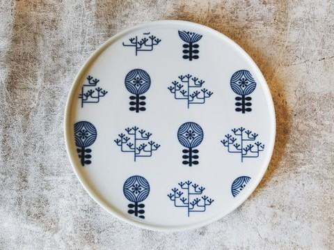 波佐見焼Shallow Plate シャロ―プレート・forest Sサイズ