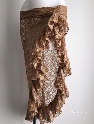 Ruffled Flower Lace SK -CU
